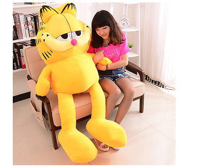 110 cm Giant Jumbo Garfield & Odie Cat Plush soft Toys Stuffed Animals Doll gift