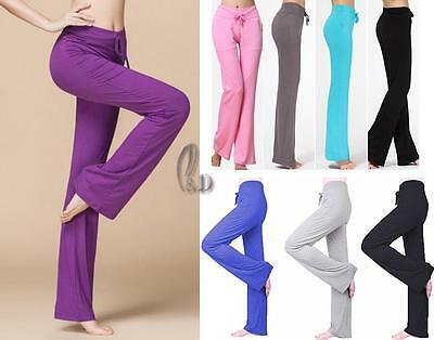 WHOLESALE BULK LOT 10 MIXED COLOUR SIZE Running Dance Yoga Stretch Pants P008