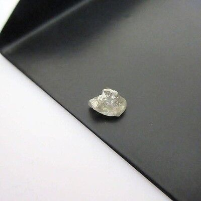 0.95 CTW Rough Raw Uncut Natural White Smooth Skinned Clear Opaque Diamond