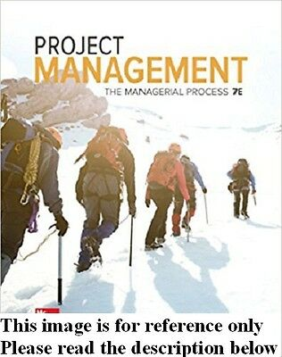 Project Management 7th by Larson,Gray Int'l Ed.No Code US Delivery 3-4 bus days