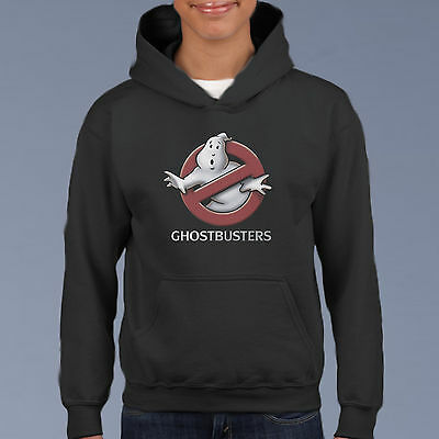 GhostBusters All Stars Kids Hoodie, Youth Pullover Size 6-12 Retro Movie Sweat