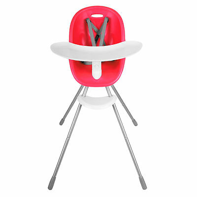 Phil & Teds Poppy Highchair Cranberry