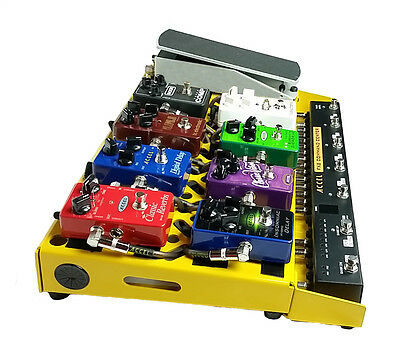 Accel XTA21 Pedal Board, Switcher Plate & Accel FX Power Source 8 Power Supply