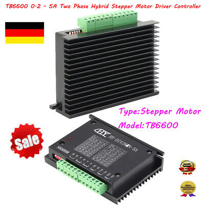 CNC Single Axis TB6600 0.2-5A Two Phase Hybrid Stepper Motor Driver Controlle C4