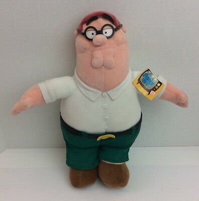 """Family Guy Peter Griffin 14"""" Plush Stuffed Animal Doll"""