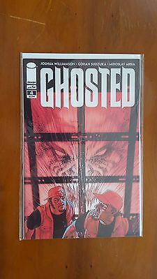 GHOSTED  #4 - 1st PRINT -  IMAGE COMICS