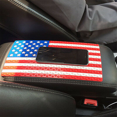 Magic Sticky Pad American Flag Banner Anti Slip Mat Car Dashboard for IPhone GPS