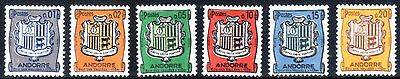 French Andorra from 1961. Escudo de Andorra. Mint hinged.