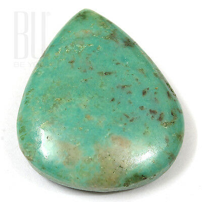 Light Blue Natural Tibetan Turquoise 30x24mm Cabochon Pears 1pcs gemstone