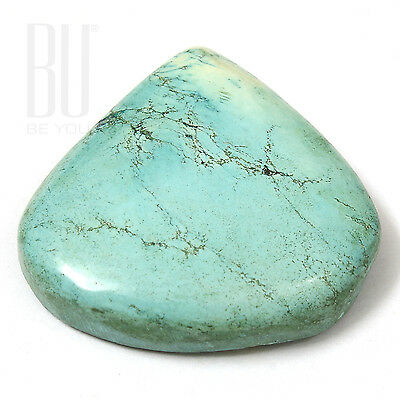 Light Blue Natural Tibetan Turquoise 29x29mm Cabochon Pears 1pcs gemstone