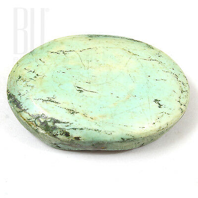 Light Blue Natural Tibetan Turquoise 27x18mm Cabochon Oval 1pcs gemstone