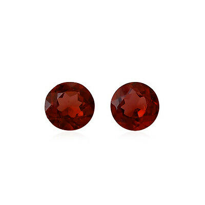Deep Red Natural Garnet AAA Quality 2 mm Round 50 pcs Loose gemstone