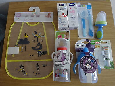 Surtido De Bebe  Tigex Nûby Philips Avent Mam Chicco + Magic Inkless Print Kit