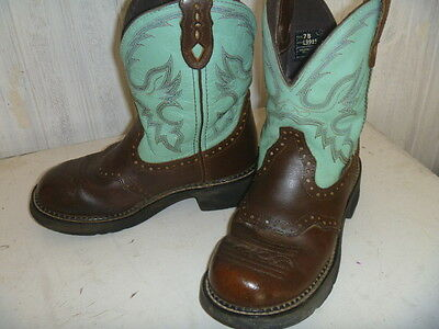Justin Gypsy Boots Ladies Size 7B