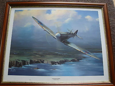 Coastal Patrol Spitfire by Barry Price