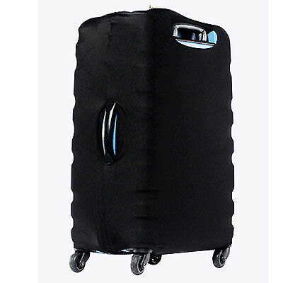 Stretch Fabric Luggage Suitcase Protector Cover( Black)