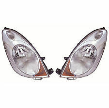 Nissan Note 2006-2009 Headlight Headlamp 1 X Pair Right And Left Rh & Lh New