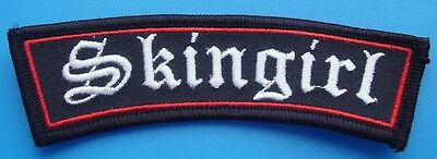 Skinhead Ska Reggae Patch - Skingirl Patch