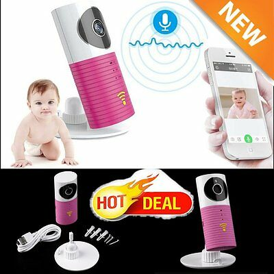 Wireless Camera Baby Care Monitor Security WIFI Night Vision Audio Video 1W