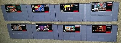 Super Nintendo Snes Lot Donkey Kong Country Adventure Island The Tick