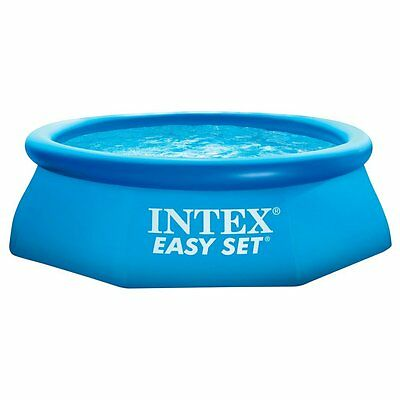 ***Intex Easy Set - Piscina hinchable, 244 x 76 cm, 2.419 l