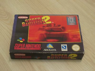 ✪ Super Battletank 2 SNES PAL nur OVP Box only 2X UKV ✪