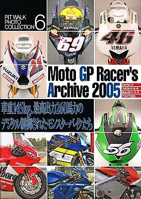 MotoGP racers archive 2005 Book Picture Japanese F/S New