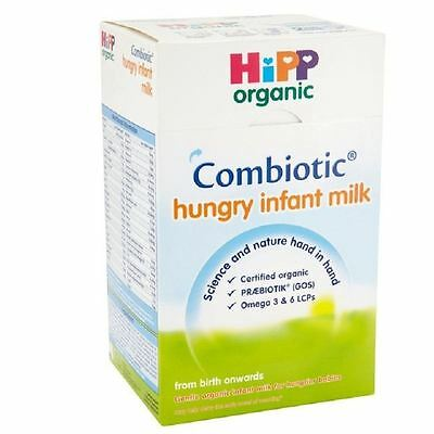 Hipp Combiotic Hungry Infant Milk from Birth 800g 1 2 3 6 Packs