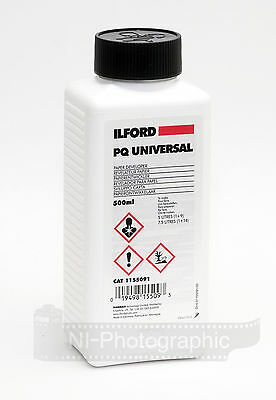 Ilford PQ Universal 500ml Black & White Liquid Paper Developer Free Delivery