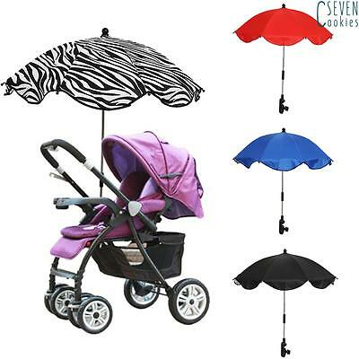 Baby Sun UMBRELLA PARASOL buggy pushchair pram stroller shade canopy Brand New
