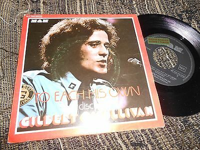 Gilbert O'sullivan Can't Get You Out Of My Mind/+1 Single 7'' 1976 Promo Spain