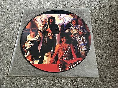 "Queen - It's A Hard Life - 1984 12"" Picture Disc Single Vg+ Lots More Queen Look"