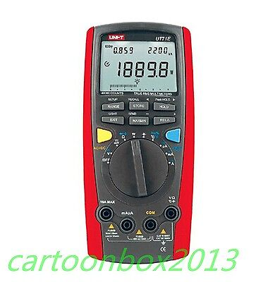 UNI-T UT71E Intelligent Digital Multimeter AC DC Volt Amp Ohm Hz Cap Temp