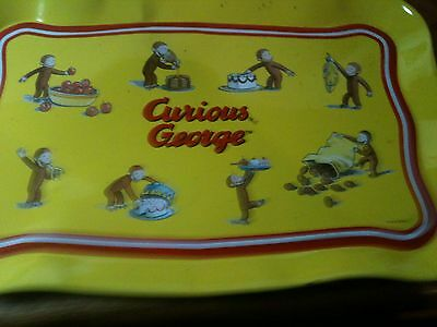 Vintage Children's Curious George Tray