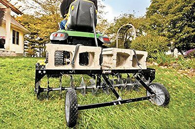 NEW Agri Fab Turf Shark 40 Inch Curved Tow Spike Aerator 45 0369 FREE SHIPPING