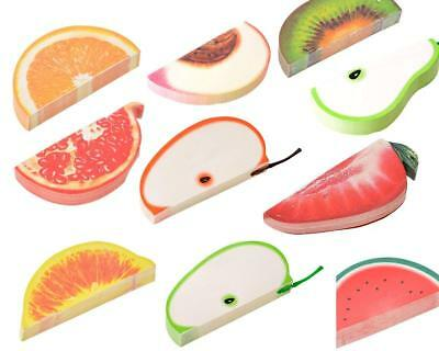 3D Fruit Vegetable Food Sticky Notes & Memo Pad