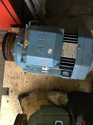 30Amp ABB ELECTRIC MOTOR 3 PHASE. Rpm 1470. kW15