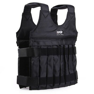 10kg Max Loading Adjustable Weighted Vest Fitness Training Jacket Waistcoat