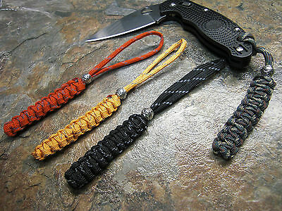 Perfect Paracord Lanyard 30 Colors Available W/ Bead American Made