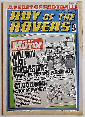 ROY OF THE ROVERS Comic - 9th September 1978