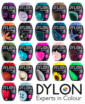 New DYLON Clothes & Fabric Machine Dye Pod 350g Full Range of Colours Available!