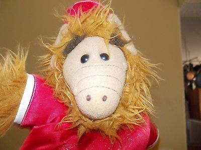 "Vintage Hand Puppet/alf With A Shirt ""isotopes"" This Is From The 1980's/clean"