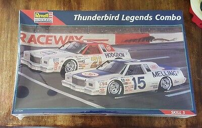 NEW Revell Monogram Thunderbird Legends Combo, #85-6857 1:24, Factory Sealed
