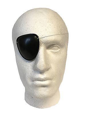 Henbrandt Pirate Black Eye Patch Mask Eyeshade Plain Fancy Costume Party
