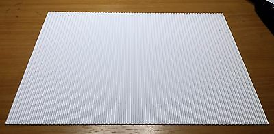 Model Corrugated Roofing 1:25 1:24 Scale