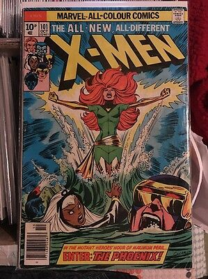 X-Men #101 - Pence Copy - First appearance of Phoenix - Marvel
