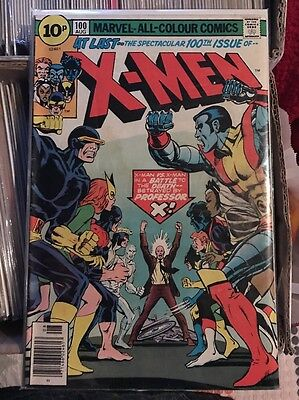 X-Men #100 - UK Pence Variant - Marvel