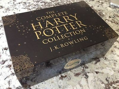 Harry Potter: The Complete Collection Paperback Collector's Chest Box Set 2008