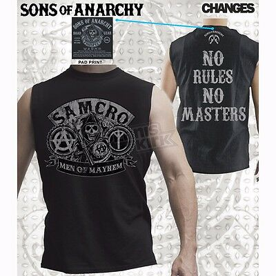 Sons of Anarchy No Rules Muscle T-Shirt 3XL