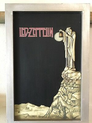 RARE Official Led Zeppelin Wall Art 3D Stairway To Heaven